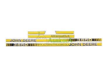 Juego de Pegatinas para Tractores John Deere 3650