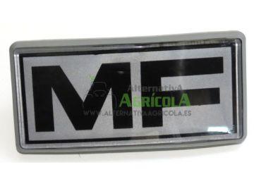 Emblema plástico frontal rejilla logo Massey Fergsuson Series 200
