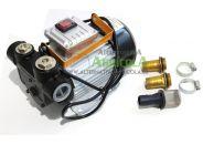 Bomba trasvase gasoil eléctrica 220v 60 litros/minuto con accesorios
