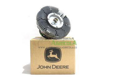 Embrague Ventilador Viscoso Orignal John Deere para Tractores 7430PR y 7530PR