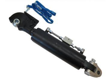 Tercer punto hidráulico reforzado articulación y enganche rápido